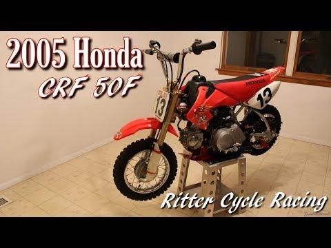 2005 Honda CRF 50F at Ritter Cycle Racing