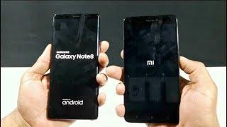 Galaxy Note 8 vs Xiaomi Redmi Note 4 - Speed Test! (4K)