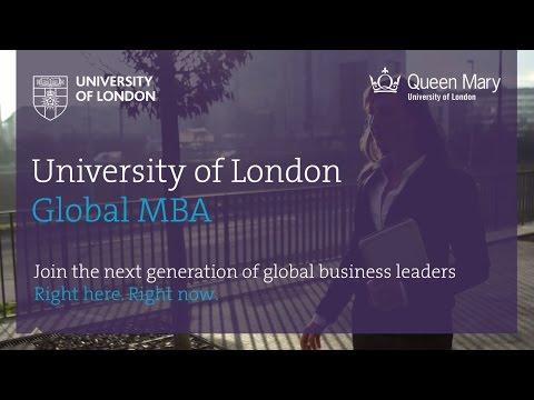 NEW University of London Global MBA