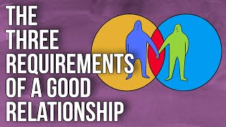 The Three Requirements of a Good Relationship