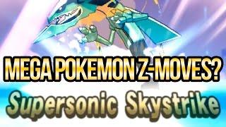 Can Mega Pokemon Use Z-Moves in Sun and Moon   Austin John Plays