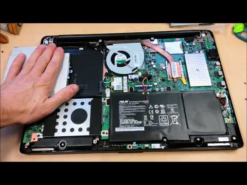 (:HowTo:) Upgrade Your ASUS Transformer Flip Book ~Memory/SSD/HDD~ TP500LA/TP500LN/Q551LN