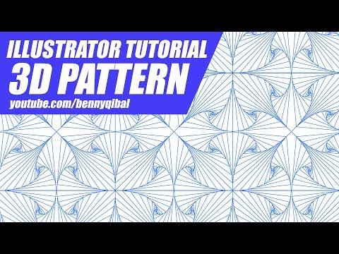 Illustrator Tutorial 3D Pattern
