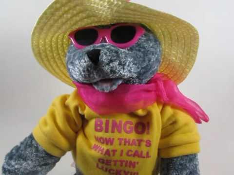 Singing Bingo Playing Bear For Sale on Ebay