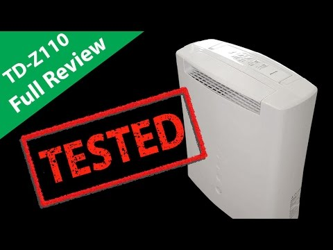 Toyotomi TD Z110 Review Desiccant Dehumidifier & Features