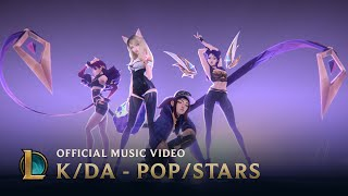 K/DA - POP/STARS (ft. Madison Beer, (G)I-DLE, Jaira Burns) | Music Video - League of Legends