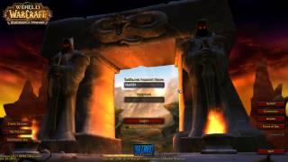 Warlords of Draenor Beta Login Screen Music