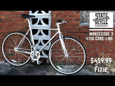 State Bicycle Co Montecore 3 - 4130 Core-Line  Fixie Bicycle   My first fixed gear