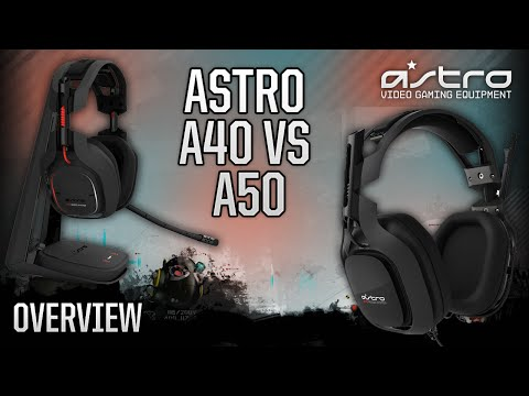 Astro Gaming A40 vs A50 Headset - Which is BEST for YOU? @ASTROGaming
