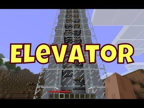 ✔ Minecraft PE - Minecart Elevator
