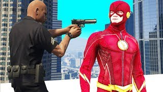Cop Arrests Me For Using Super Powers! (GTA RP)