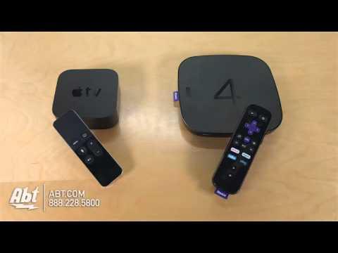 Cutting The Cord: Apple TV (Gen 4) Vs. Roku 4 Streaming Media Players