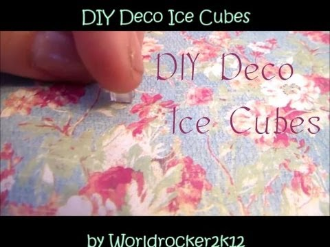 Resin Ice Cubes Tutorial