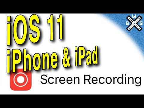 iOS 11 Screen Recording Tutorial (iPhone 5s & Higher or iPad mini 2 & Higher)