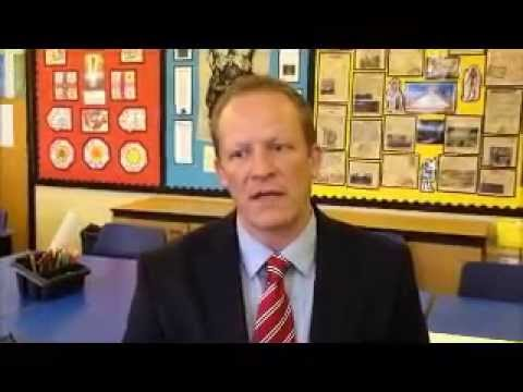 Steve Hill - Go and make a difference (primary school teacher)