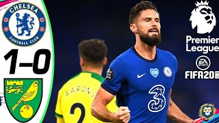 FIFA 20 Daily Match ● Chelsea 🆅🆂 Norwich | Premier League 2020 ● Matchday | Highlights 🎮 Gameplay