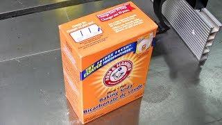 super glue & baking soda trick, how it bonds to ( STEEL