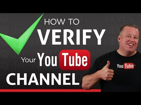 How to Verify Your YouTube Account