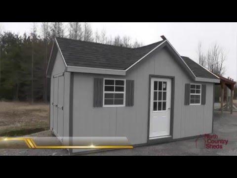 Chalet Garden Sheds | Shed with Dormer | Storage Shed | Ottawa Sheds