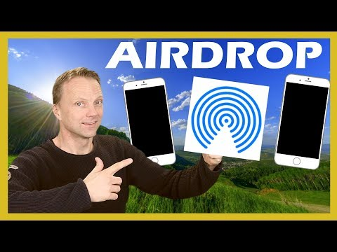 How to turn on AirDrop in iOS11 2018