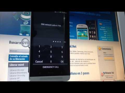 Liberar HTC One de Orange, Movistar o Vodafone por imei