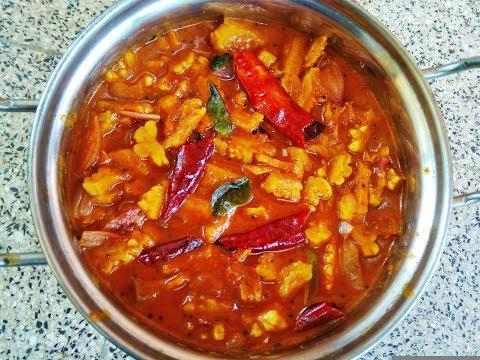 കയ്പ്പില്ലാതെ പാവയ്ക്ക പുളിങ്കറി /Bitter gourd curry