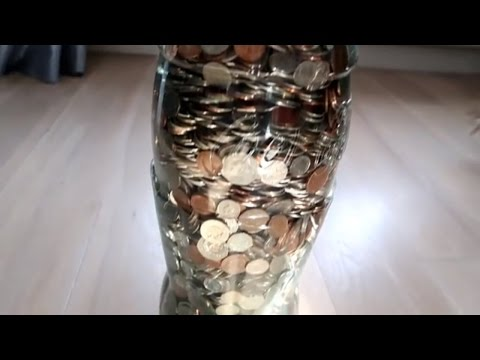 VLOGSY VLOGS CHANGING COINS 40KGS WORTH OF COINS?!METRO BANK CHALLENGE