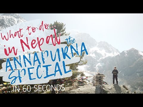 What to do in NEPAL in 60 seconds