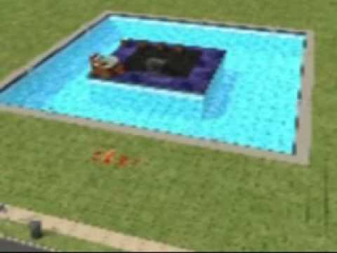 Sims - Swimming pool tips