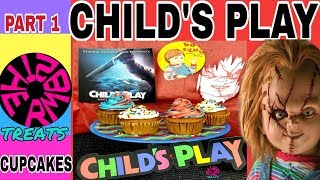 Download How to make scary chucky cupcakes for halloween| How to| 2019- The Rm82 treats Video