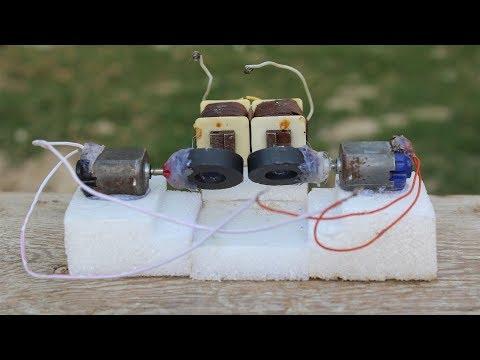 100v Generator, How To Make, Magnet, Motor, Energy