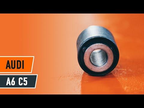 How to change a front arm bushes AUDI A6 C5 TUTORIAL | AUTODOC