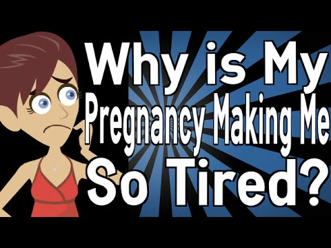 Why is My Pregnancy Making Me So Tired?