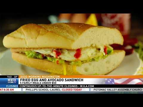 5 Meals for $50: Jessica on Good Morning Washington