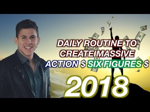 The POWER LIST TO CRUSH My Goals And Earn SIX FIGURES! 2018