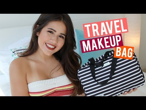What's In My Travel Makeup Bag? + $1000 Sephora GIVEAWAY   SUMMER 2017
