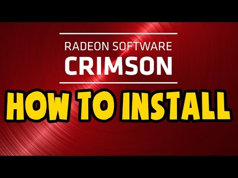 How to Clean Install AMD CRIMSON Drivers - Error Free Installation