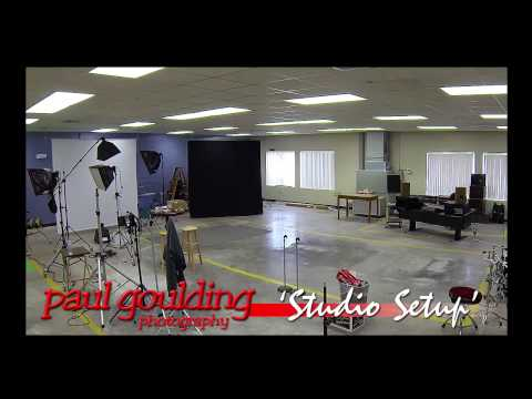 Paul Goulding Photography Studio Construction