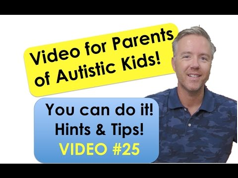Tips for Parenting Autistic Kids