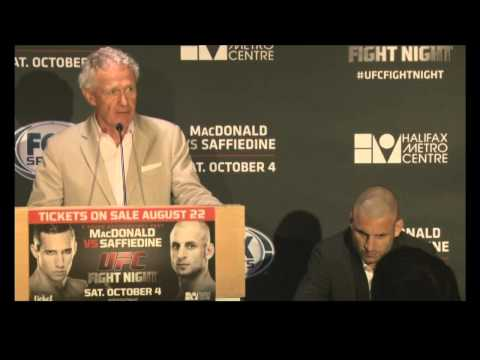 UFC fighters pumped for Halifax card