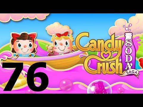 Candy Crush Soda Saga - Level 76 - Gameplay Walkthrough (iOS & Android)