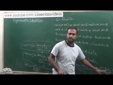 Trigonometric Identities (Easy Learning Techniques) | CBSE 11 Maths NCERT 3.3 Intro