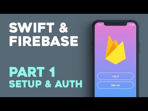 Setup & Login w/ Email & Password (Swift 4.0, iOS11, Xcode 9 Beta) - Swift & Firebase Part 1
