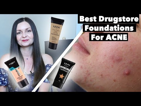 Best Drugstore Foundations for Acne Prone & Oily Skin – Makeup for Acne – Clear Skin Tips