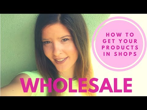 How to Sell Products to Stores  - Top tips for selling wholesale on Etsy