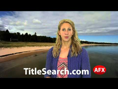 Property title records in Emmet County Michigan   AFX