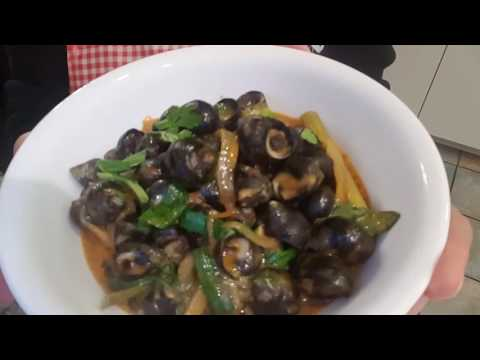 WATER SNAILS with Creamy Tom Yum Sauce