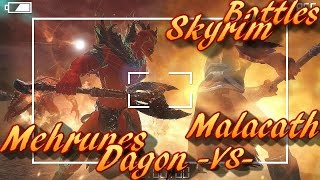 Skyrim Battles - Malacath vs Mehrunes Dagon [Legendary Settings]