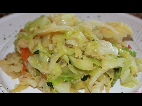 How To Make The Best Fried Cabbage | Steamed Cabbage | Episode 38