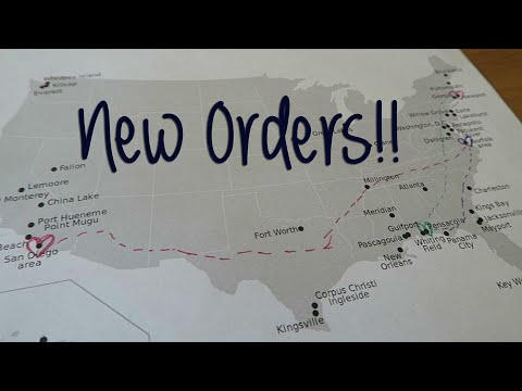 OUR NAVY JOURNEY | NEW ORDERS!! Moving Announcement
